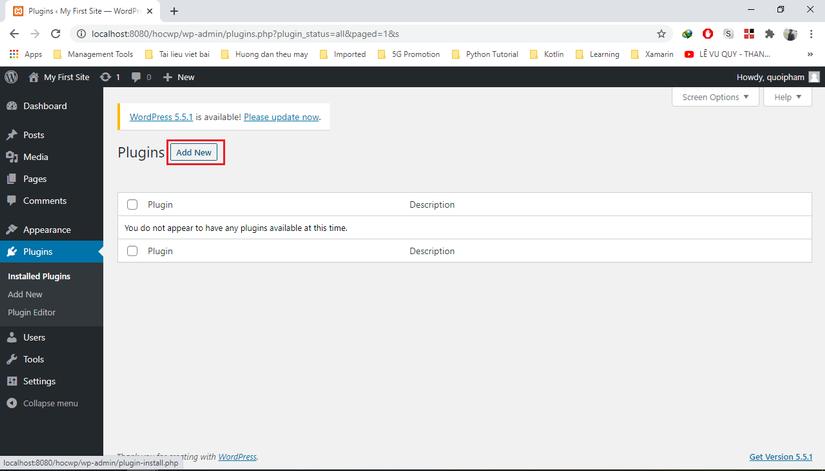 Tự học Wordpress - bài 2: Tạo 1 trang web bán hàng đơn giản với plugin WooCommerce (phần 1) 1